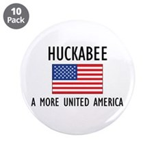 "Huckabee Flag 3.5"" Button (10 pack)"