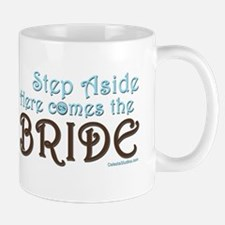 2-Step Aside Bride Mugs
