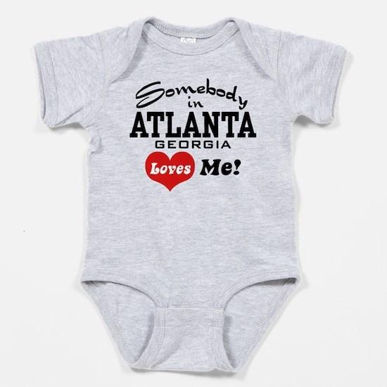 Cute Atlanta georgia Baby Bodysuit