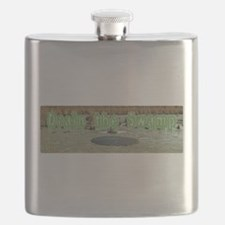 Funny Swamp Flask