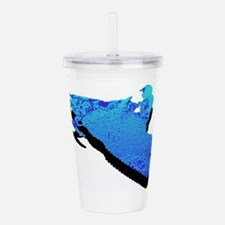 SNOWMOBILE Acrylic Double-wall Tumbler