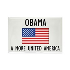 Obama Flag Rectangle Magnet