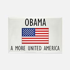 Obama Flag Rectangle Magnet