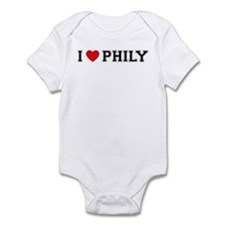 I Love Phily Infant Bodysuit