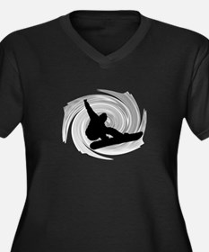 SNOWBOARD Plus Size T-Shirt