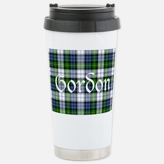 Tartan - Gordon dress Stainless Steel Travel Mug