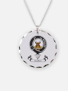 Badge - Gordon Necklace Circle Charm