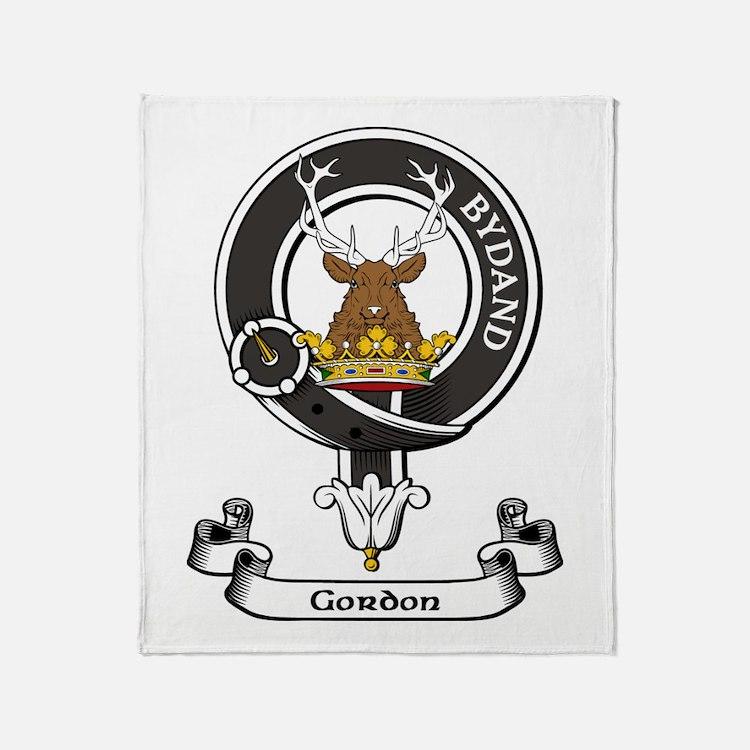 Badge - Gordon Throw Blanket