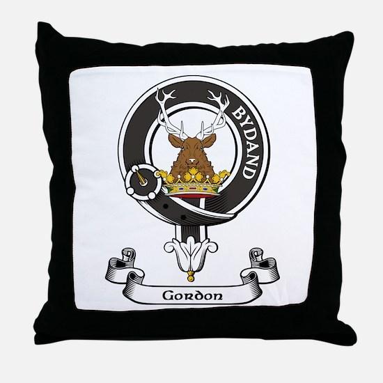 Badge - Gordon Throw Pillow