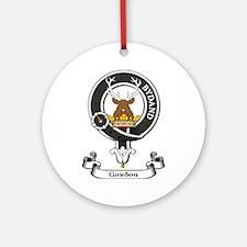 Badge - Gordon Ornament (Round)