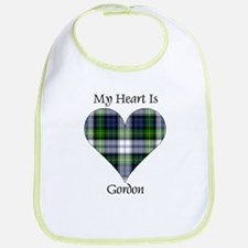 Heart-Gordon dress Bib