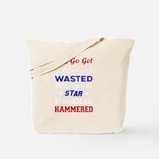 Funny Star spangled Tote Bag