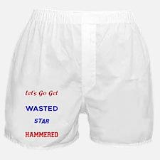 Funny Star spangled Boxer Shorts