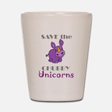 Cute Unicorns Shot Glass