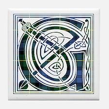 Monogram - Gordon Tile Coaster