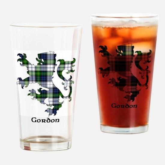 Lion-Gordon dress Drinking Glass