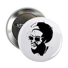 """Afro Stencil 2.25"""" Button"""