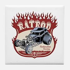 Rat Rod 1 Tile Coaster