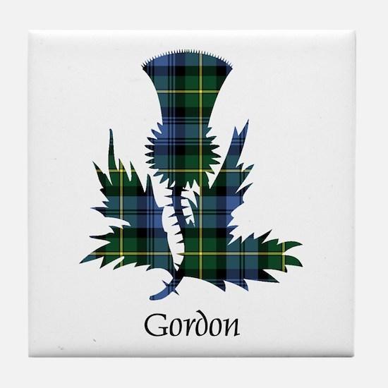 Thistle - Gordon Tile Coaster