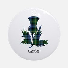 Thistle - Gordon Ornament (Round)