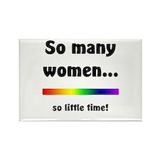 So Many Women Rectangle Magnet