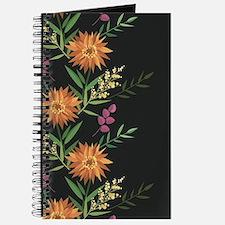 Autumn Flowers Journal
