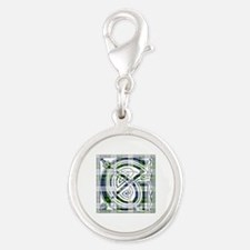 Monogram-Gordon dress Silver Round Charm