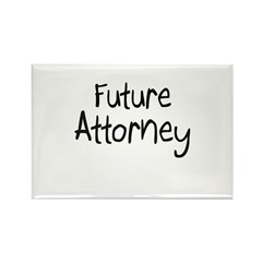 Future Attorney Rectangle Magnet (10 pack)