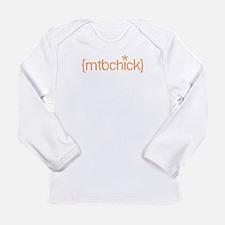 {mtbchick}:: tangerine Long Sleeve T-Shirt
