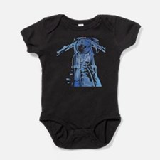 Cute Norton motorcycle Baby Bodysuit