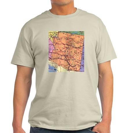 Arizona Map T-Shirt