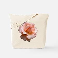 Peach Wild Rose Tote Bag