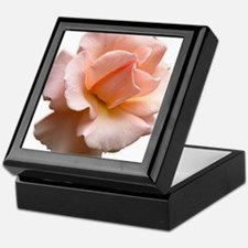 Peach Wild Rose Keepsake Box