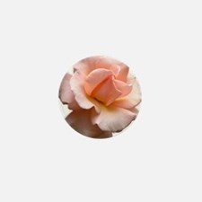 Peach Wild Rose Mini Button (10 pack)