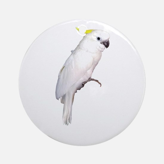 Cockatoo Round Ornament