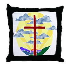 Jesus Rocks Throw Pillow