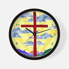 Jesus Rocks Wall Clock