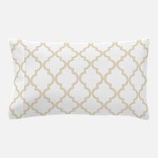 Moroccan Quatrefoil Pattern: Muslin Be Pillow Case