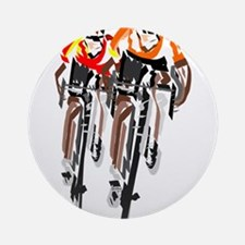 Tour de France Round Ornament