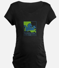Pets are humanizing. They remind Maternity T-Shirt