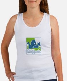Pets are humanizing. They remind us we ha Tank Top