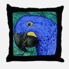 Hyacinth Macaw Throw Pillow