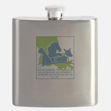 Pets are humanizing. They remind us we have Flask