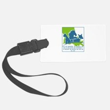 Pets are humanizing. They remind Luggage Tag