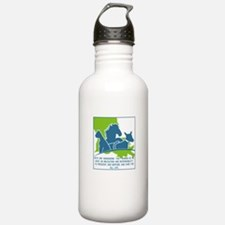 Pets are humanizing. T Water Bottle