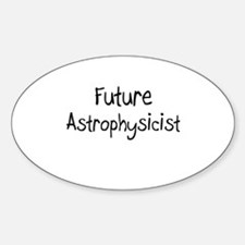 Future Astronomer Oval Decal