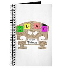 Violin or Fiddle Strings Journal
