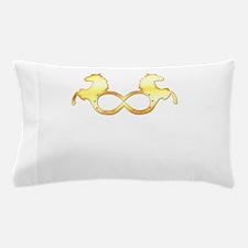 i love horses Pillow Case