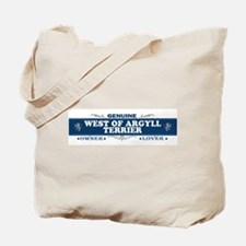 WEST OF ARGYLL TERRIER Tote Bag