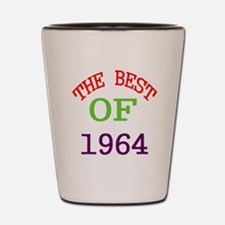 The Best Of 1964 Shot Glass